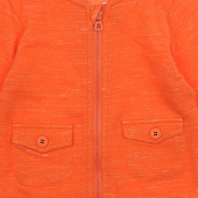 Erkek Bebek Fermuarlı Sweat 1810391100