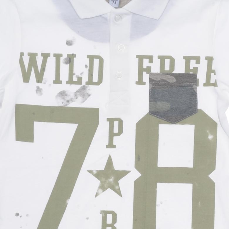 Erkek Çocuk Yakalı T-Shirt 1810818100