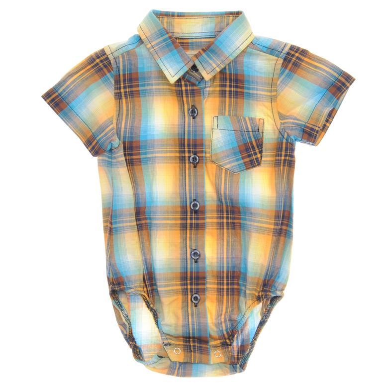 Erkek Bebek Body Gömlek