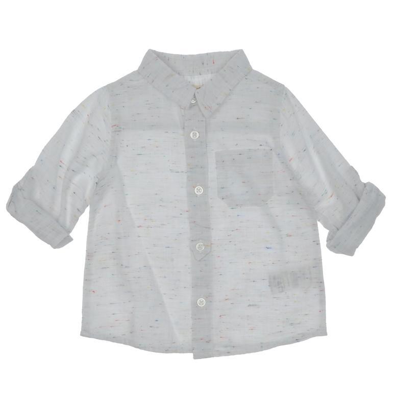 Erkek Bebek Uzun Kollu Gömlek