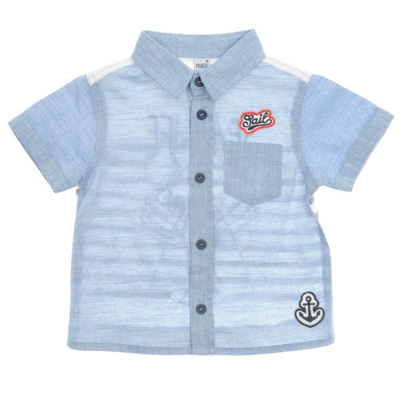 Erkek Bebek Kısa Kollu Gömlek 1811291100
