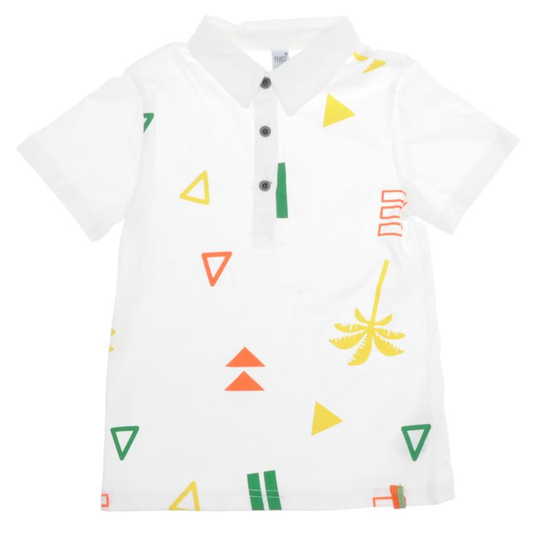Erkek Çocuk Yakalı T-Shirt 1811743100