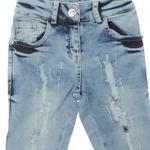 Kız Çocuk Denim Pantolon 1812153100