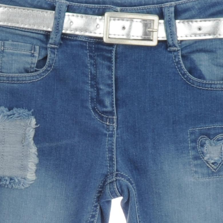 Kız Çocuk Denim Pantolon 1812163100