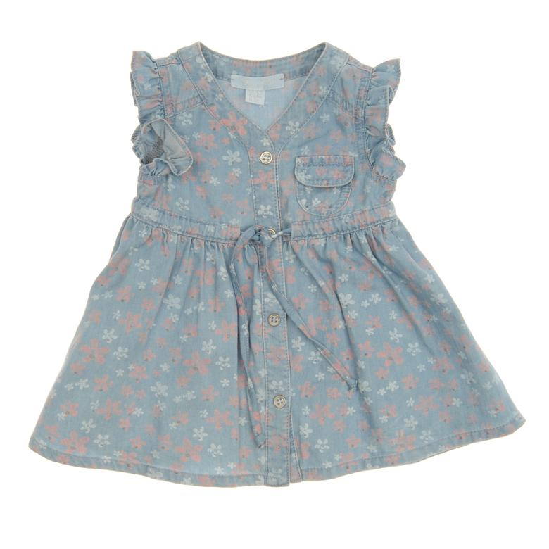 Kız Bebek Denim Elbise 1812783100