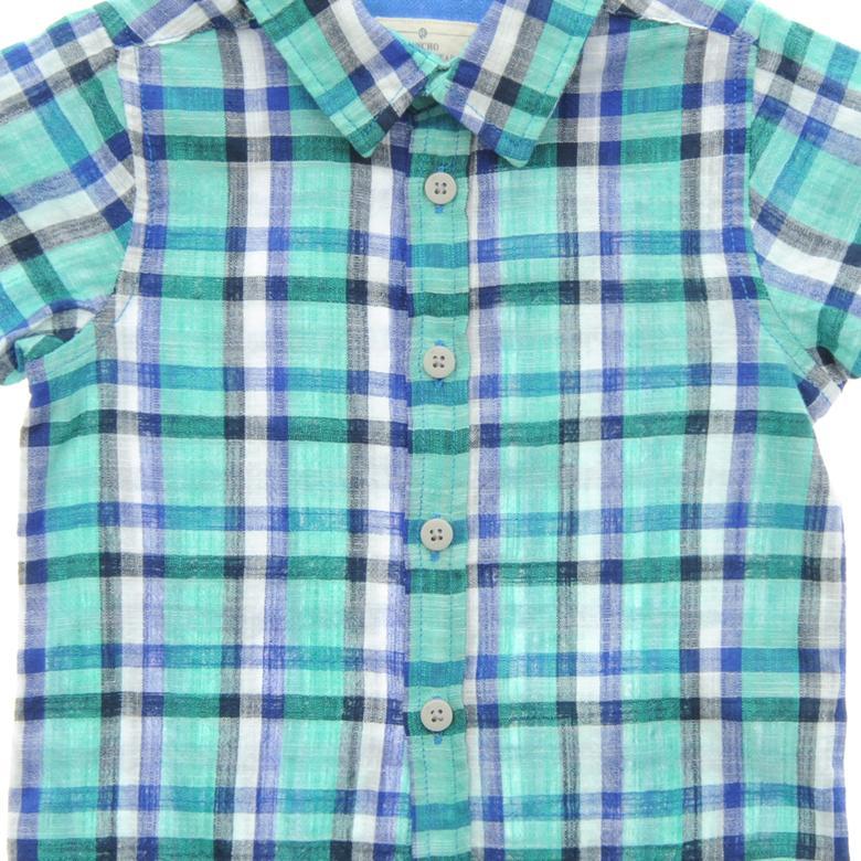 Erkek Bebek Kısa Kollu Gömlek 1711293100