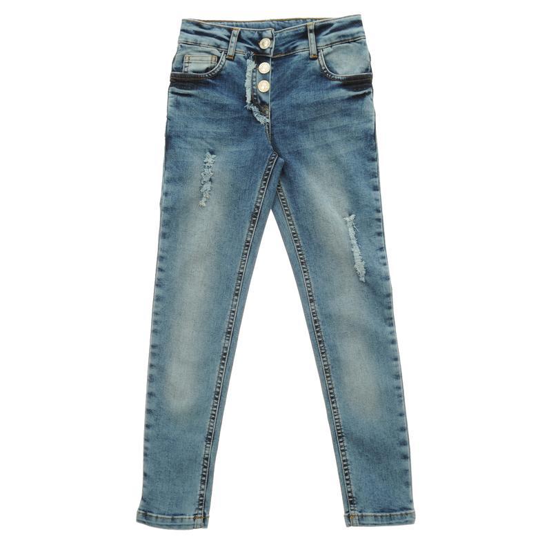 Kız Çocuk Denim Pantolon 1712104100