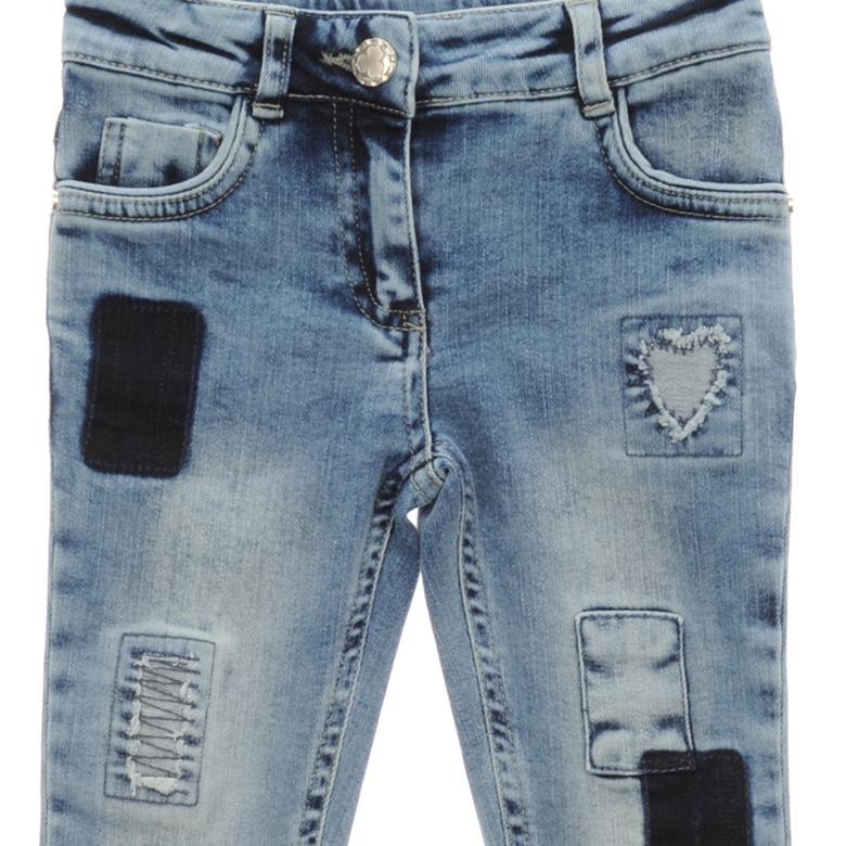 Kız Çocuk Denim Pantolon 1712155100