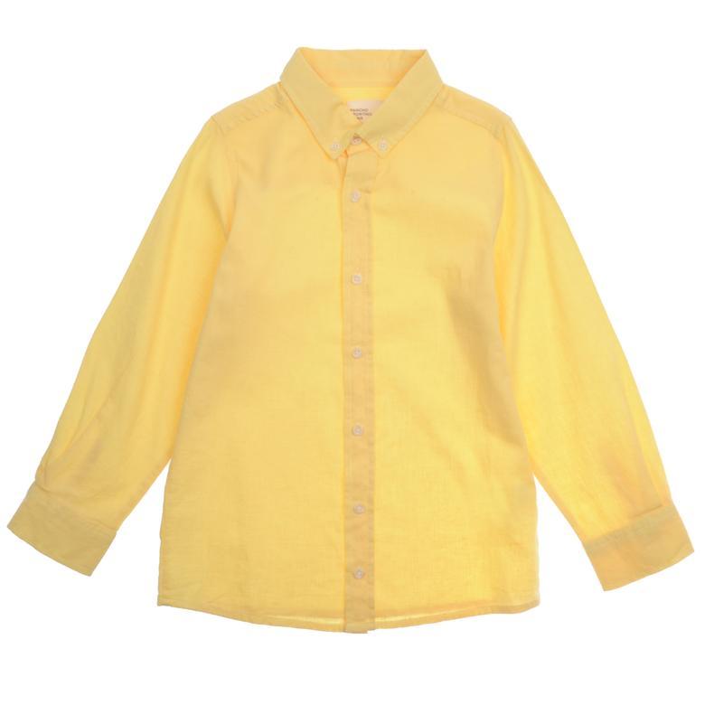 Erkek Çocuk Basic Keten Gömlek 9931201100