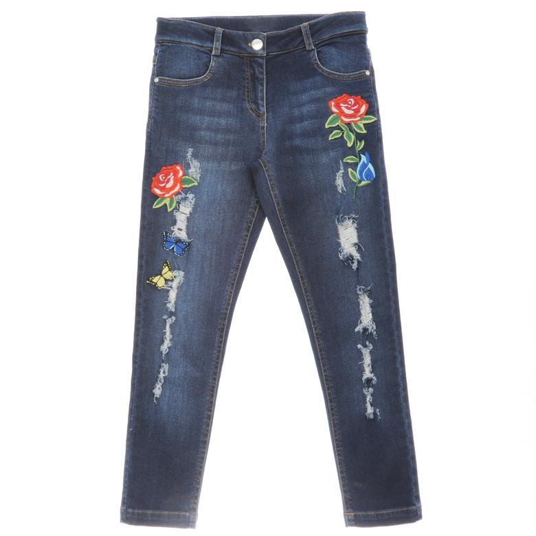Kız Çocuk Denim Pantolon 1722116100