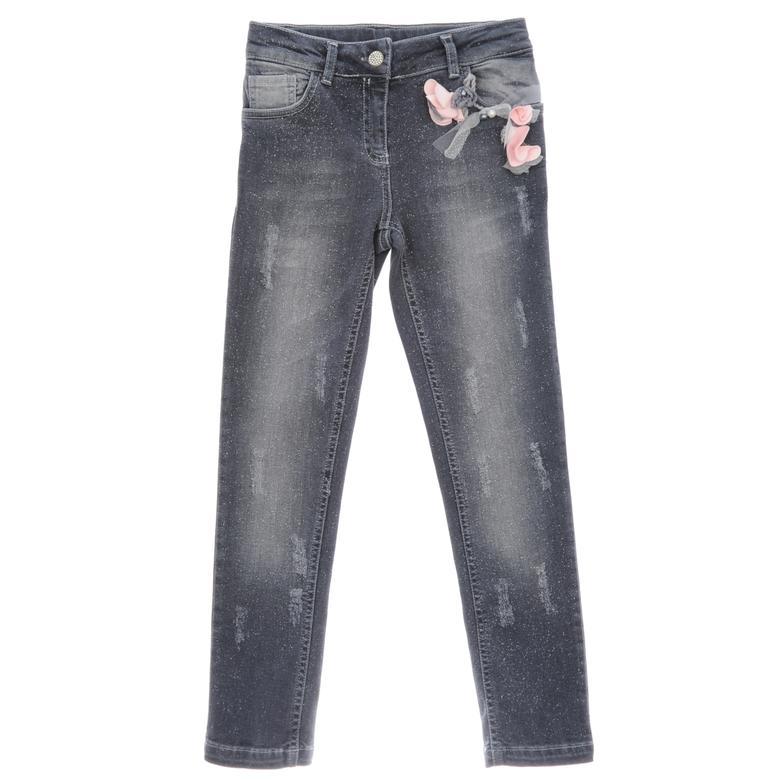 Kız Çocuk Denim Pantolon 1722112100