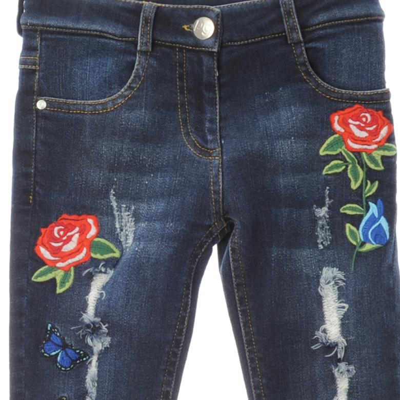 Kız Çocuk Denim Pantolon 1722141100