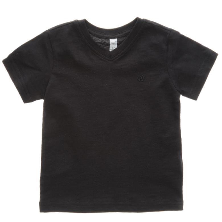 Erkek Çocuk Basic V Yaka T-Shirt 1711731100