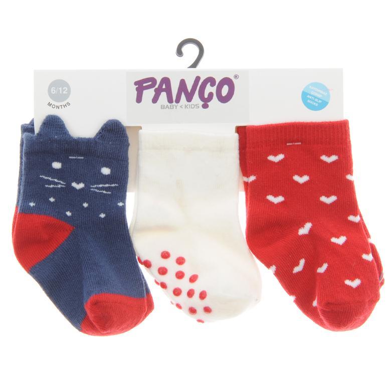 Kız Bebek 3 lü Çorap 1713611108