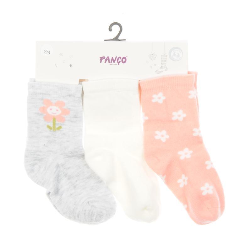 Kız Bebek 3 lü Çorap 1713614108