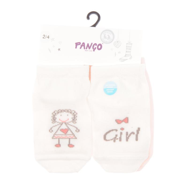 Kız Bebek 2 li Çorap 1713617108