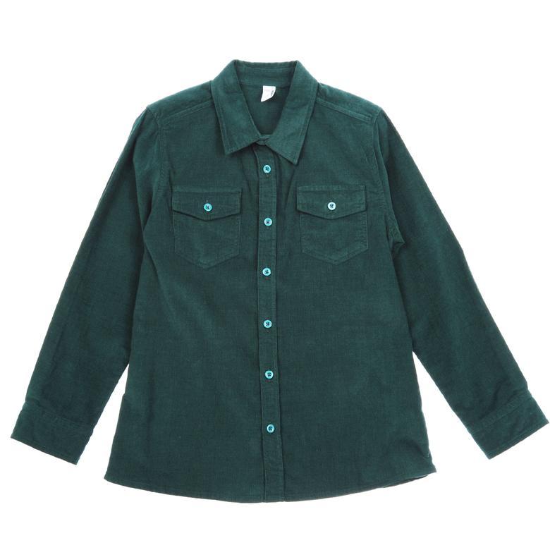Erkek Çocuk Kadife Gömlek