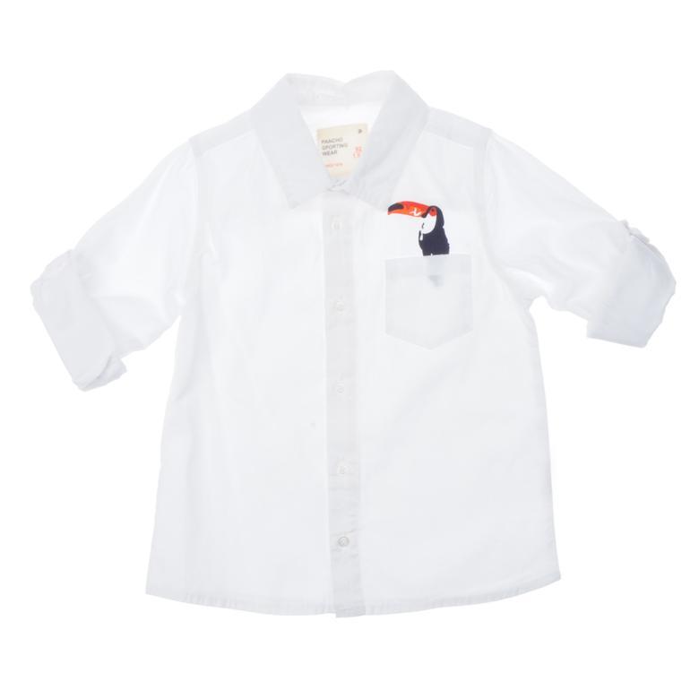 Uzun Kollu Gömlek 1811251100