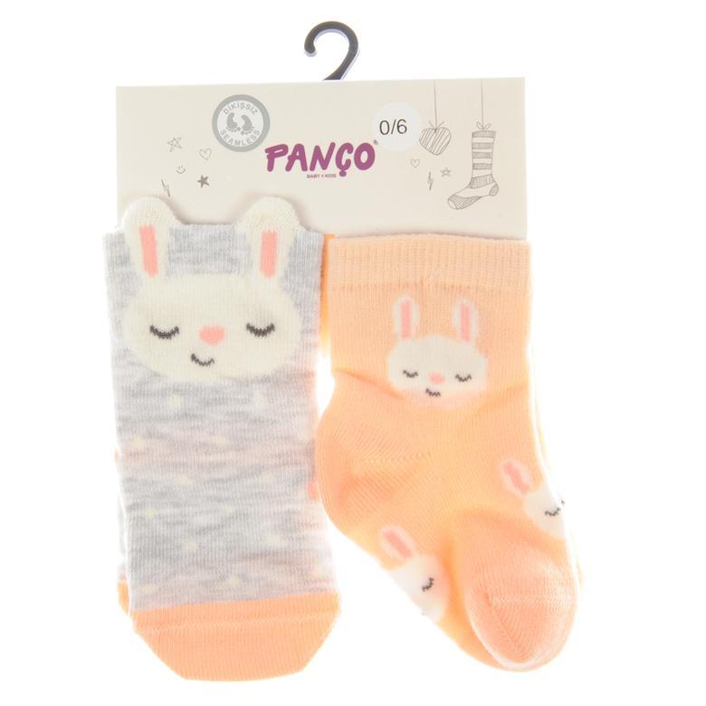 Kız Bebek 2 li Çorap 1723631108