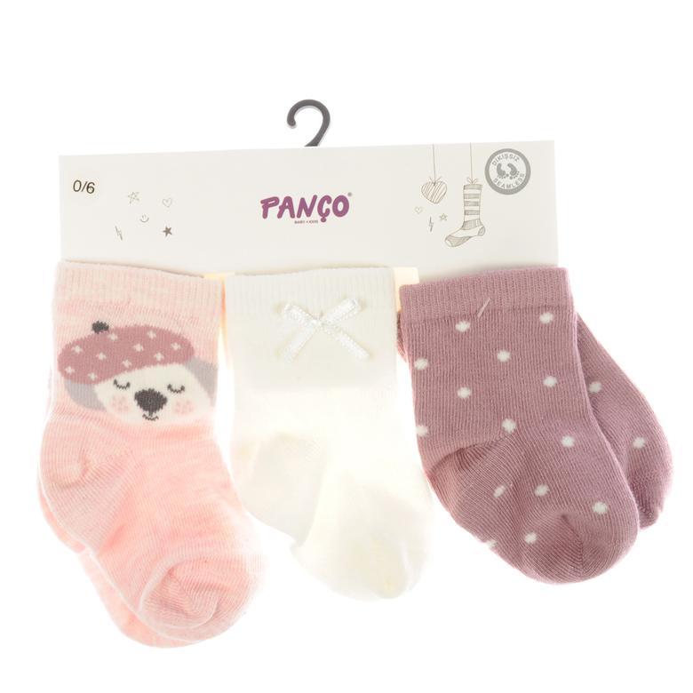 Kız Bebek 3 lü Çorap 1723627108