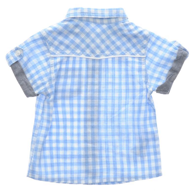 Erkek Bebek Kısa Kollu Gömlek 1711290100