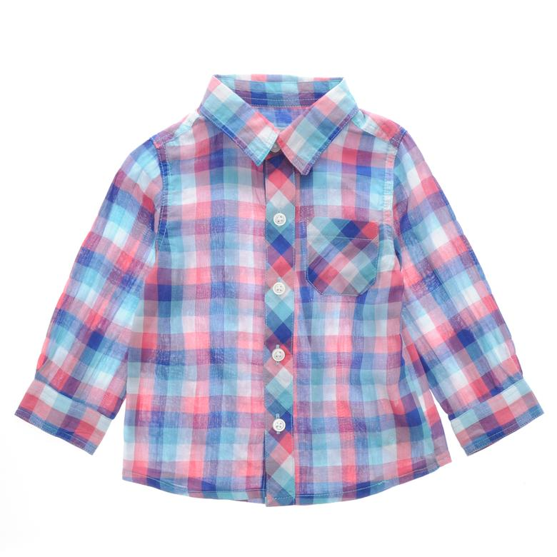 Erkek Bebek Uzun Kollu Gömlek 1711287100