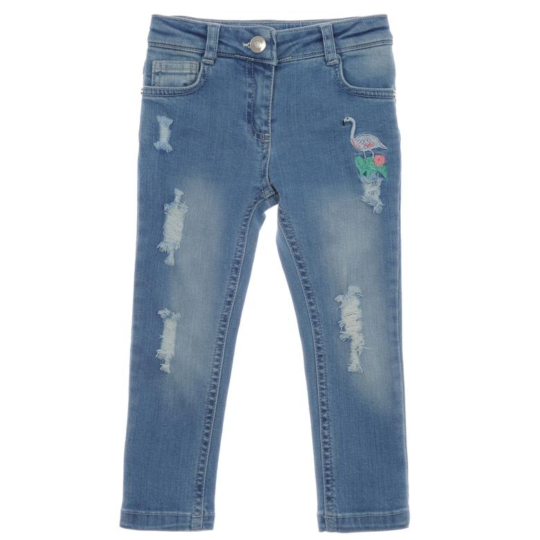 Kız Çocuk Denim Pantolon 1712151100