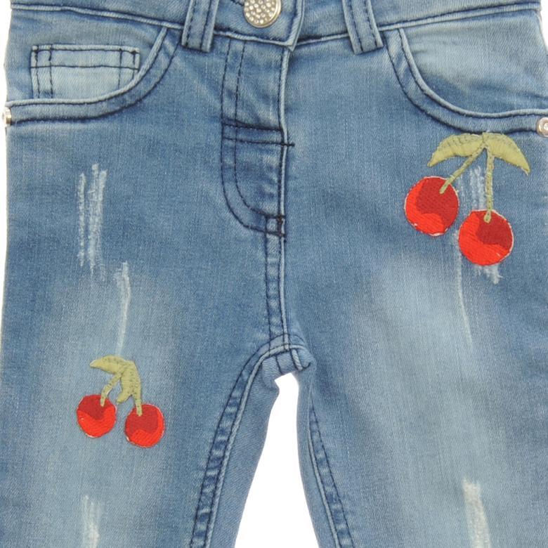 Kız Bebek Denim Pantolon 1712196100