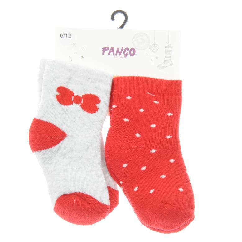 Kız Bebek 2 li Çorap 1723633108