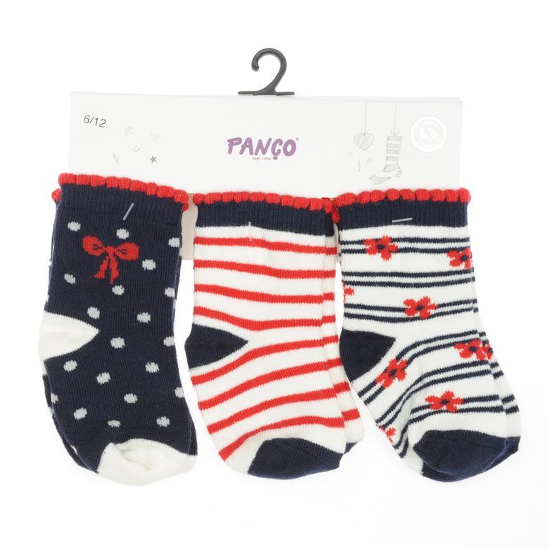 Kız Bebek 3 lü Çorap 1813621108
