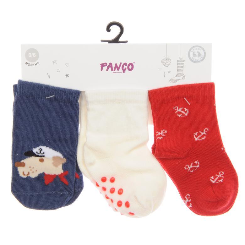 Erkek Bebek 3 lü Çorap 1813607108