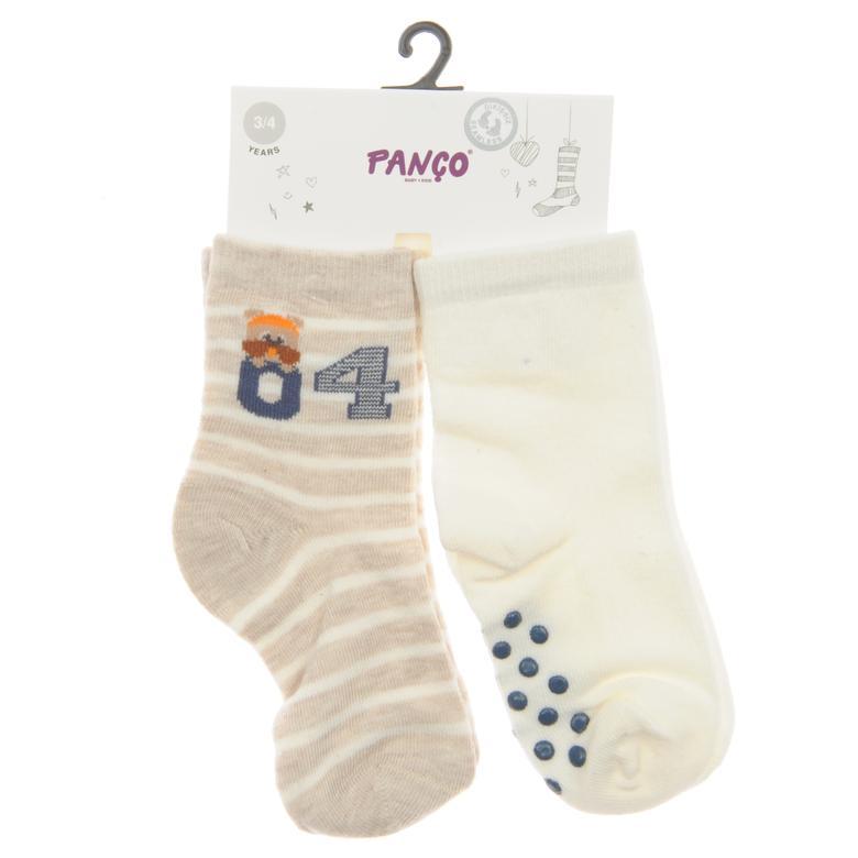Erkek Bebek 2 li Çorap 1813614108