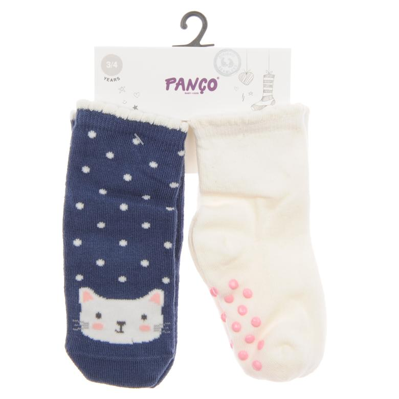 Kız Bebek 2 li Çorap 1813628108