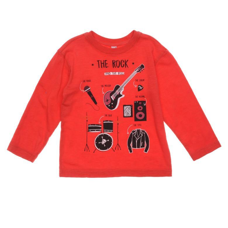 Erkek Çocuk Uzun Kollu T-shirt 18216052100