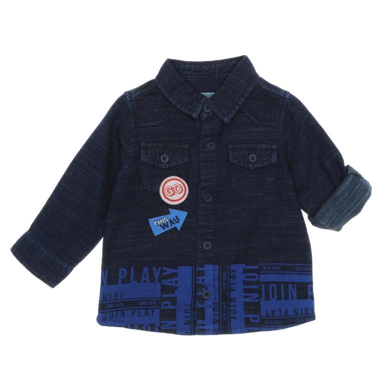 Erkek Bebek Denim Gömlek 18212094100