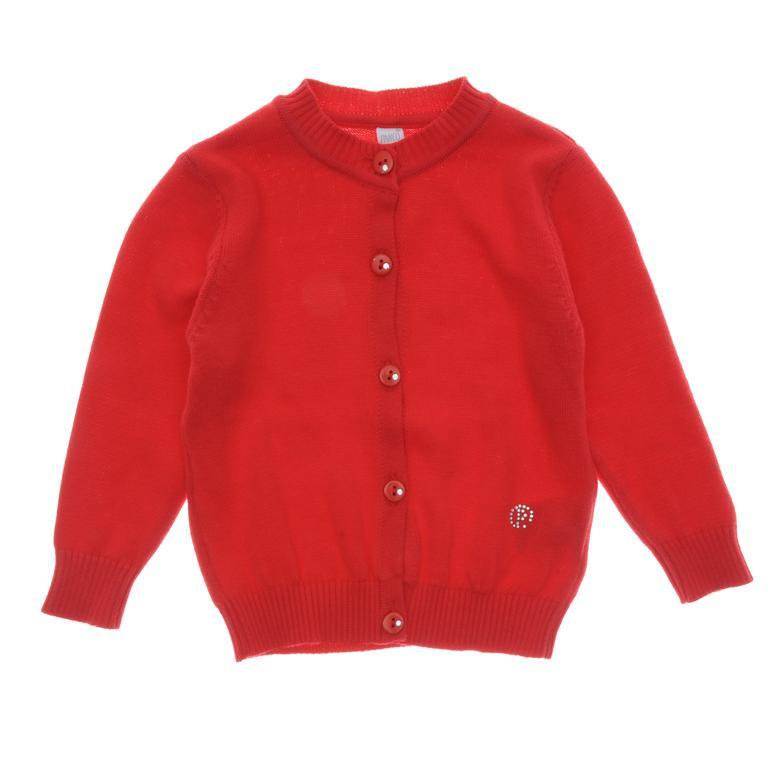 Kız Bebek Basic Triko Hırka 1723481100