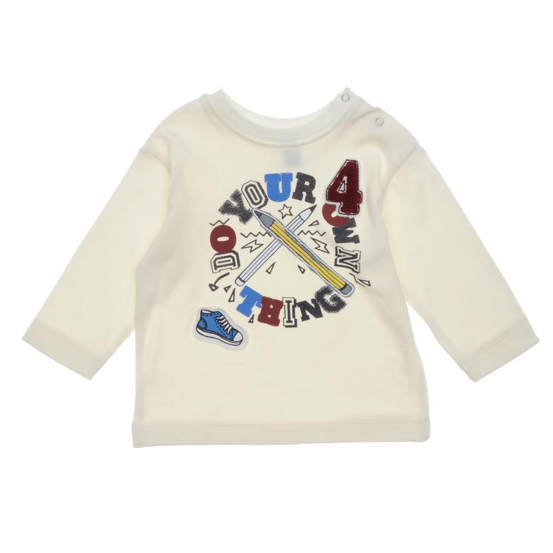 Erkek Bebek Uzun Kollu T-shirt 18216086100