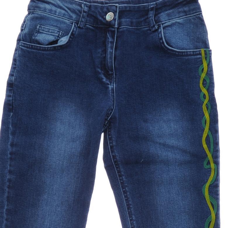 Kız Çocuk Denim Pantolon 18221008100