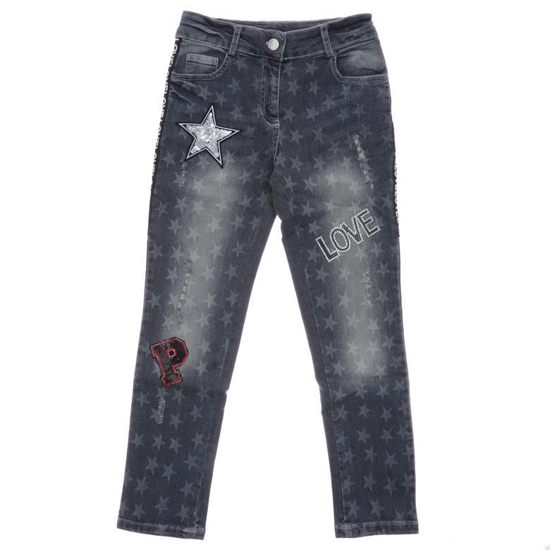 Kız Çocuk Denim Pantolon 18221013100