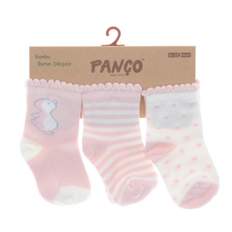 Kız Bebek 3 lü Çorap 18236028108