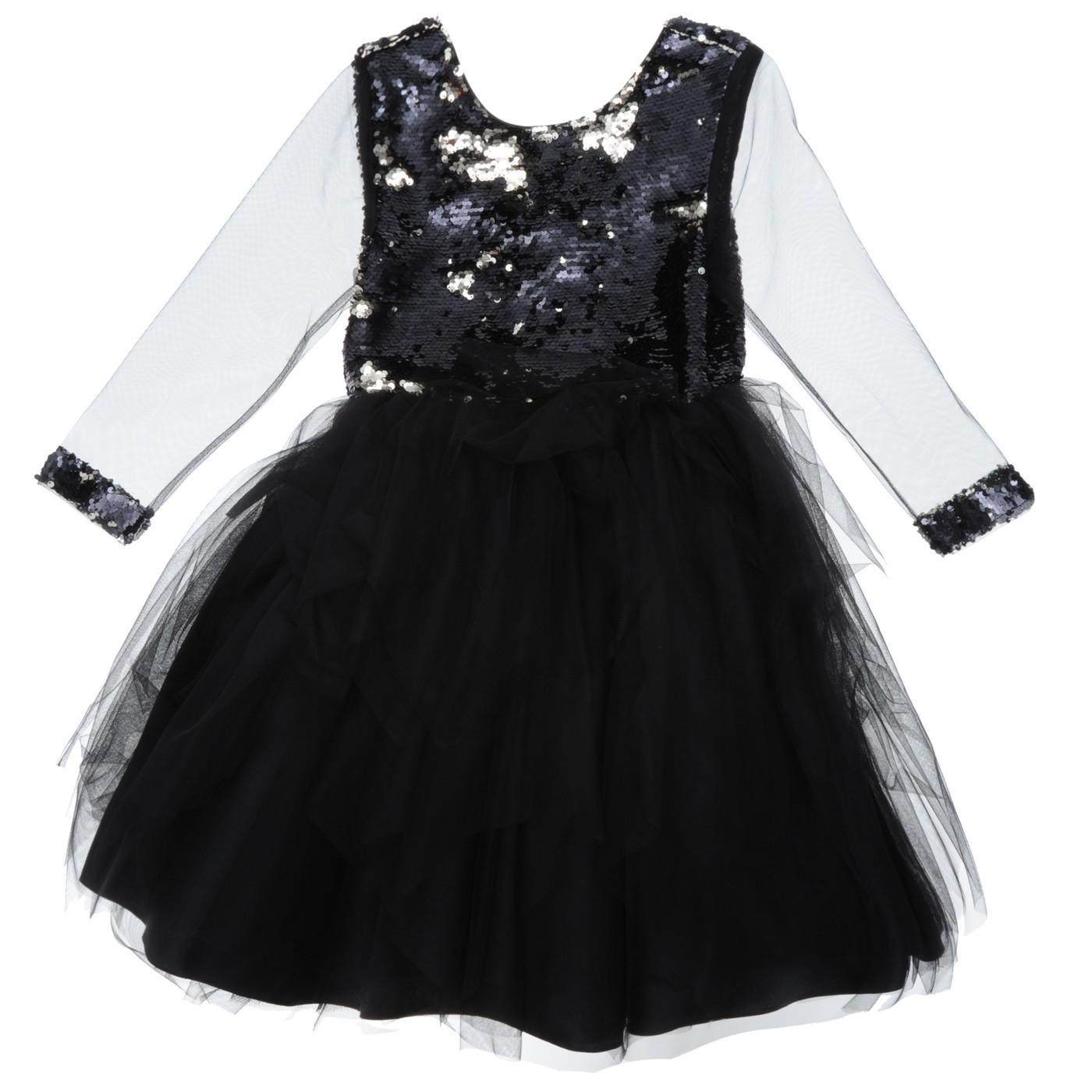 c2382823d0a3e Siyah Kiz Çocuk Abiye Elbise Kız Çocuk Abiye Elbise 18226107100 - Panço