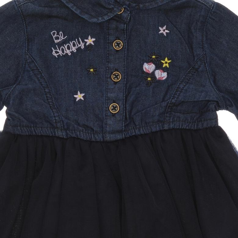 Kız Bebek Denim Elbise 18226089100