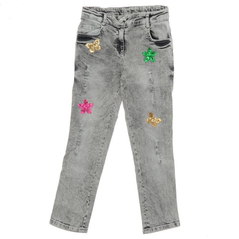 Kız Çocuk Denim Pantolon 18221055100
