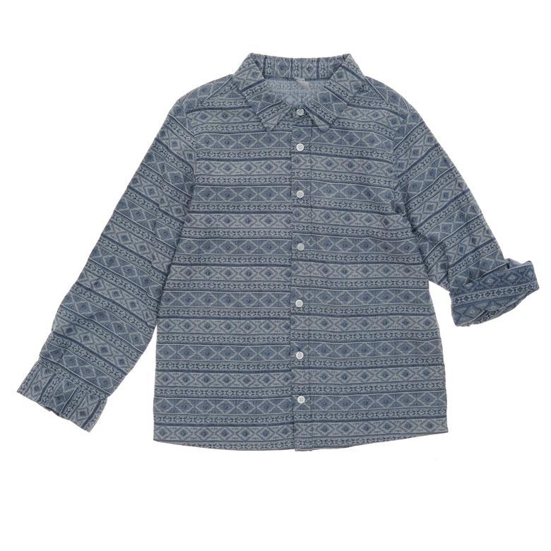 Erkek Çocuk Uzun Kollu Gömlek 19112001100