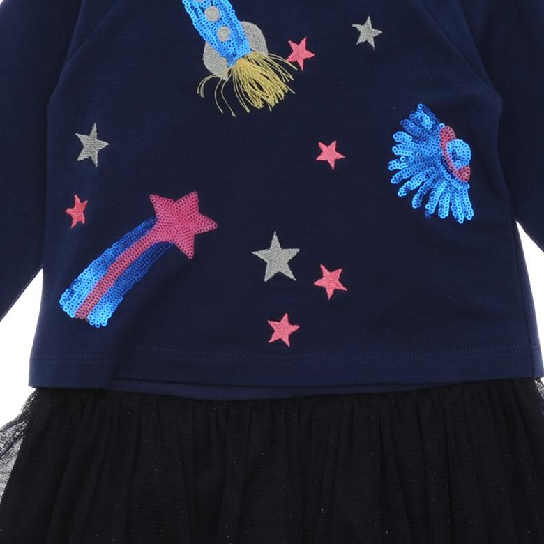 Kız Çocuk Örme Elbise 19126061100