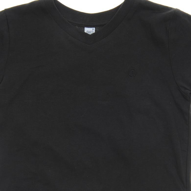 V Yaka Basic T-Shirt 1411772100