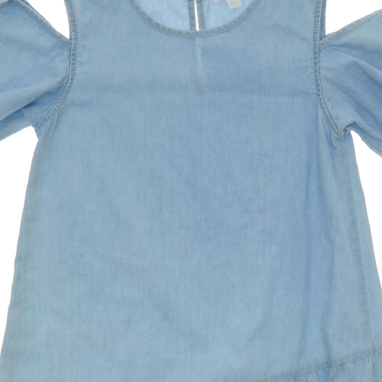 Kız Çocuk Denim Elbise 1812723100