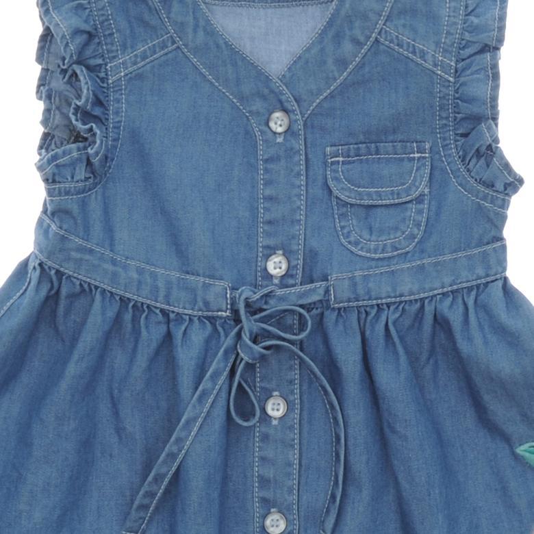 Kız Bebek Kot Elbise 19126086100