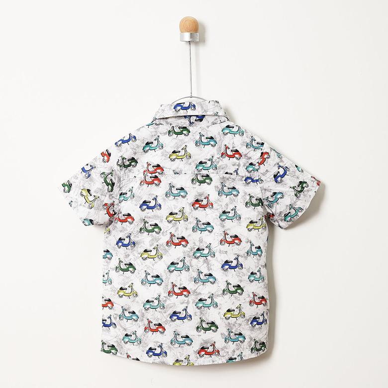 Erkek Çocuk Kısa Kollu Gömlek 19112157100