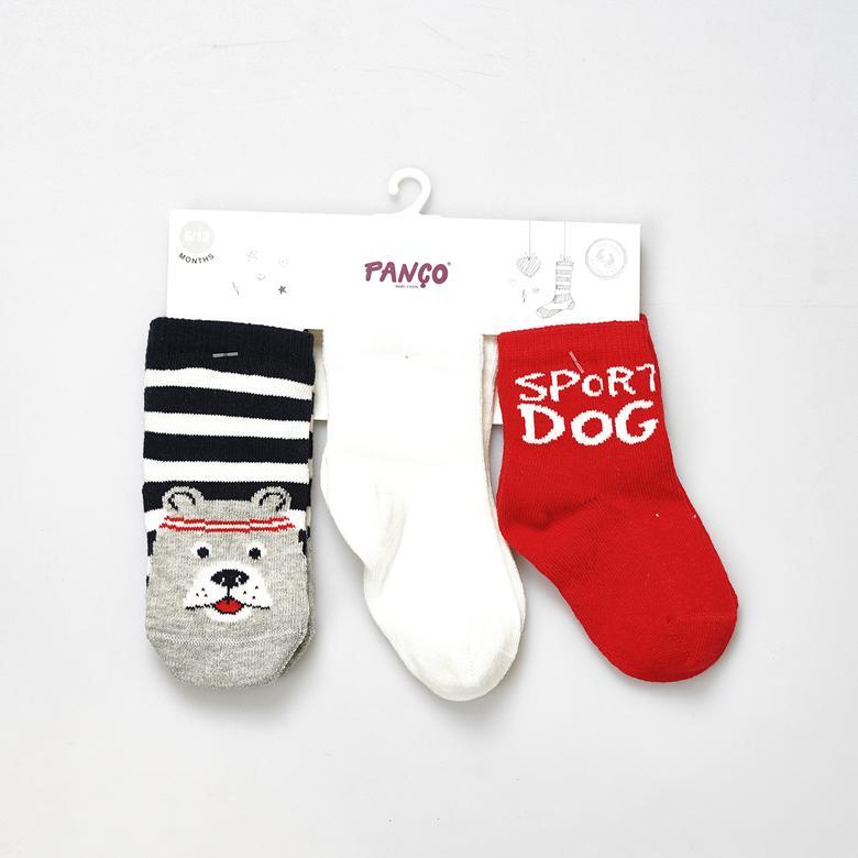 Erkek Bebek 3 lü Çorap 19136084108